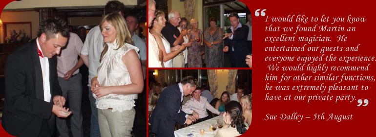 magician,martin scarborough,close up magician,table,restaurant,wedding,trade show magician,hertfordshire,watford